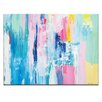 "Artist Lane ""Summer Colors"" by Kirsten Jackson Painting Print on Canvas"