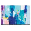 Artist Lane Into the Blue by Kirsten Jackson Painting Print on Canvas