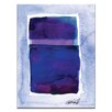 Artist Lane Watercolor Abstraction 207 by Kathy Morton Stanion Painting Print on Canvas