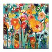 Artist Lane Palette Poppies by Anna Blatman Painting Print on Canvas
