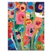 Artist Lane Palette Poppies 2 by Anna Blatman Painting Print on Canvas
