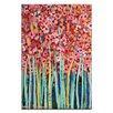 Artist Lane Pink Jonquils by Anna Blatman Painting Print on Canvas