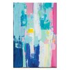 Artist Lane Runaway Together by Kirsten Jackson Painting Print on Canvas