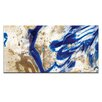 Artist Lane I did go Indigo by Olivia Collins Painting Print on Wrapped Canvas