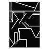 Artist Lane Geometric 1 by Chalie MacRae Painting Print on Wrapped Canvas
