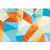 Artist Lane Shard Gold Fish by Ayarti Framed Graphic Art on Wrapped Canvas