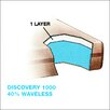 """Vinyl Products Discovery Water 1000 9""""  Waterbed Mattress"""
