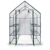 OGrow Deluxe Walk In 1.4 x 1.4m Greenhouse