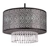 Whitfield Lighting Willem 3 Light Drum Chandelier