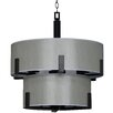 Whitfield Lighting Jaelyn 9 Light Drum Chandelier