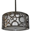 Whitfield Lighting Seiko 3 Light Drum Chandelier