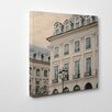 Ruby and B Paris Lamp Photographic Print Wrapped on Canvas
