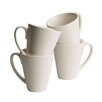 Belleek Home 4-tlg. Tasse Ripple