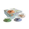 Belleek Home Windsor Cottage Garden Teacups