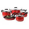 Basic Essentials Carbon Steel 10 Piece Cookware Set