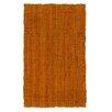 Jute&Co Hand-Woven Terracotta Area Rug