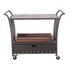 Sunjoy Antigua Serving Cart