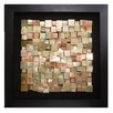 Howard Elliott Acid Treated Copper Framed Wall Art
