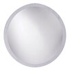 Howard Elliott Frameless Round Wall Mirror