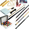 Trademark Games Billiards 32 Piece Accessory Kit For Pool Table