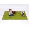 Sport and Playbase Green Area Rug