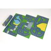 Sport and Playbase 3 Piece Continental Roadway Play Mat Set