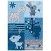 Arte Espina Kids Line Sam Blue Rug