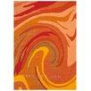 Arte Espina Modern Line Joy Orange Rug