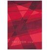 Arte Espina Modern Line Joy Red Rug