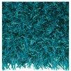Arte Espina Lounge Beat Shaggy Turquoise Rug