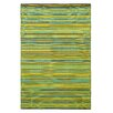 Fab Habitat Cancun Hand-Woven Green Indoor/Outdoor Area Rug