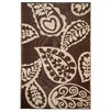 Fab Habitat Hand-Woven Brown Indoor/Outdoor Area Rug