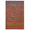Fab Habitat Cancun Hand-Woven Multi-Coloured Indoor/Outdoor Area Rug