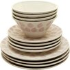 Duckydora Verona 12 Piece Dinnerware Set