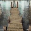 Alan Blaustein Annecy Pier Photographic Print on Canvas