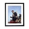 Culture Decor Gerahmter Fotodruck Sean Connery Jetpack
