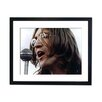 Culture Decor John Lennon Singing Framed Photographic Print