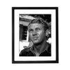 Culture Decor Gerahmter Fotodruck Steve McQueen Portrait