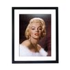 Culture Decor Marilyn Monroe in Fur Framed Photographic Print