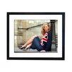 Culture Decor Gerahmter Fotodruck Kate Moss Union Jack