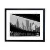 Culture Decor Gerahmter Fotodruck Manhattan Brooklyn Bridge