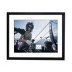 Culture Decor Gerahmter Fotodruck Jackie Kennedy Boarding Plane