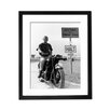 Culture Decor Steve McQueen Great Escape Framed Photographic Print