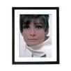 Culture Decor Audrey Hepburn - Portrait Framed Photographic Print