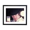 Culture Decor Malcolm McDowell - Clockwork Orange Framed Photographic Print