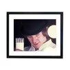 Culture Decor Gerahmter Fotodruck Malcolm McDowell - Clockwork Orange