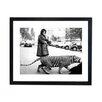 Culture Decor Gerahmter Fotodruck Take a Tiger For a Stroke