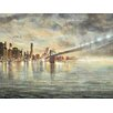 "Portfolio Canvas Decor ""The Big City"" Painting Print on Wrapped Canvas"