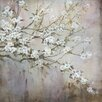 Portfolio Canvas Decor 'White Elegance' by L. Carson Framed Painting Print on Wrapped Canvas