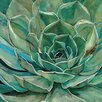 Portfolio Canvas Decor 'Agave Flower' by Elinor Luna Framed Painting Print on Wrapped Canvas